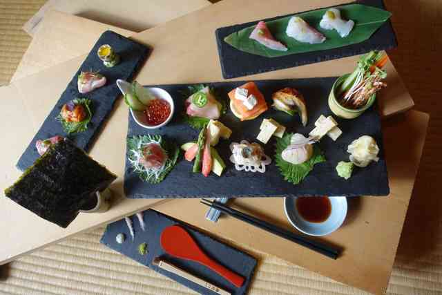special menu temaki set