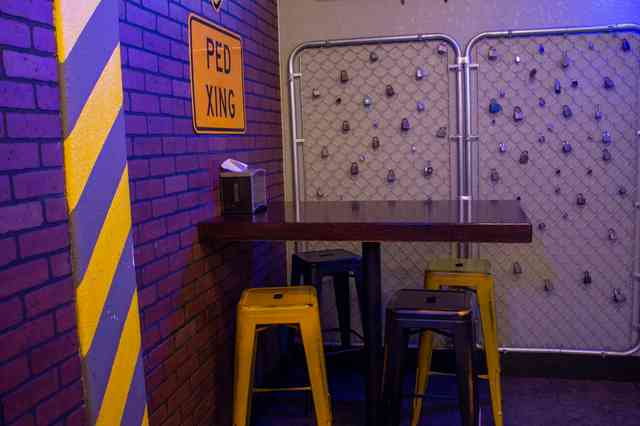 loading zone interior
