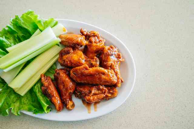 Terriyaki wings