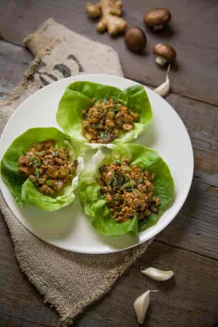 chinese chicken salad wraps