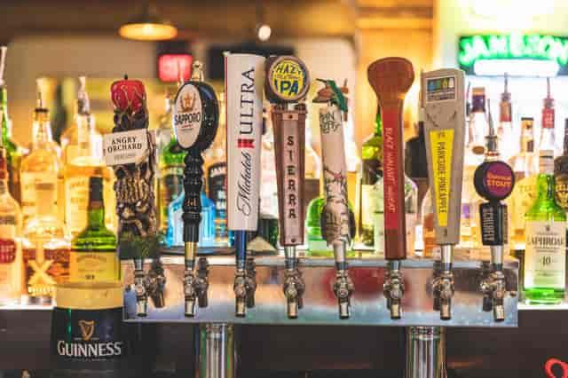 Bar taps at Dublin's Pass