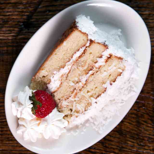 Cake with Coconut
