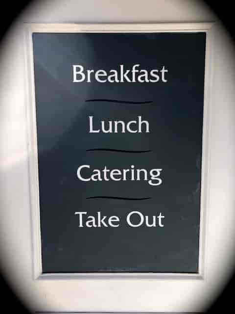 breakfast lunch takeout