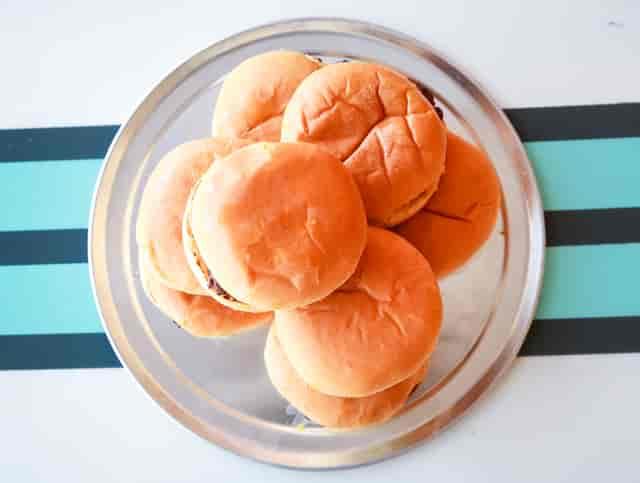 hamburger pile