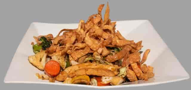 stir fry plate