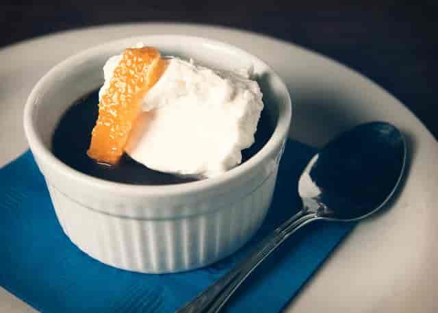 dessert and ice cream