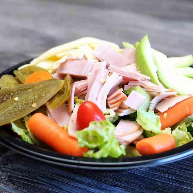 turkey and ham salad
