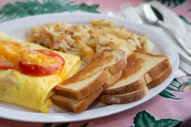 southern garden omelette