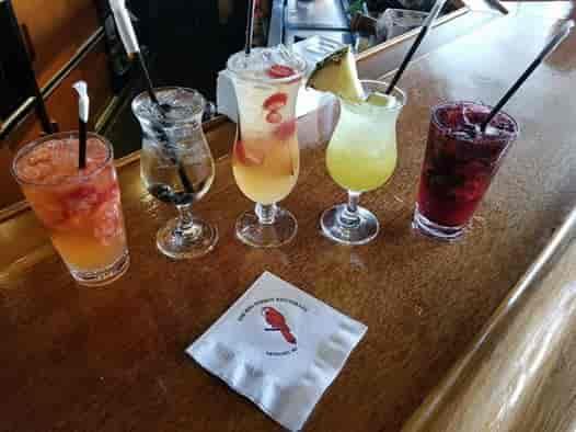 assorted summer drinks