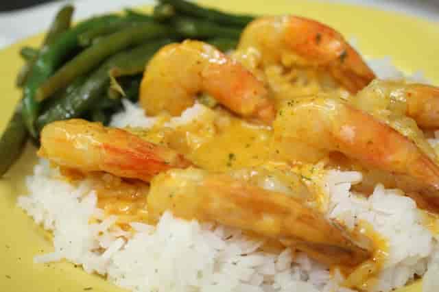 thai curry shrimp