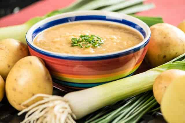 Smokin Potato Leek Soup