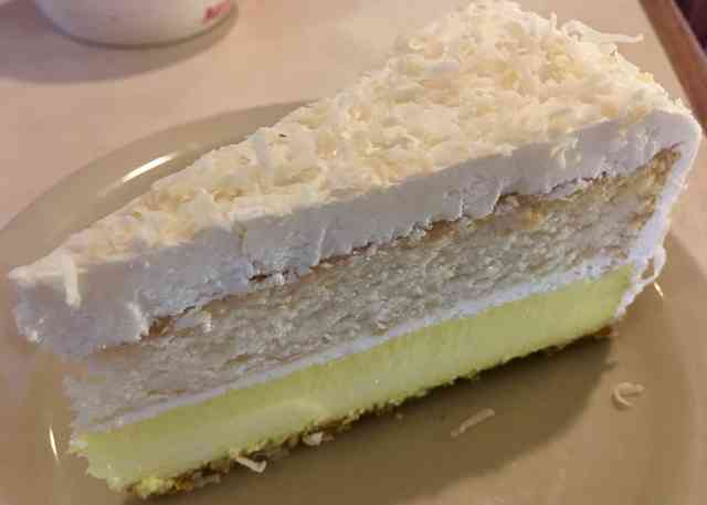 coconut passion fruit lemon cheesecake