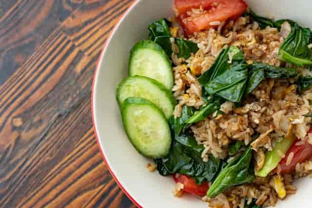 spicy broccoli fried rice