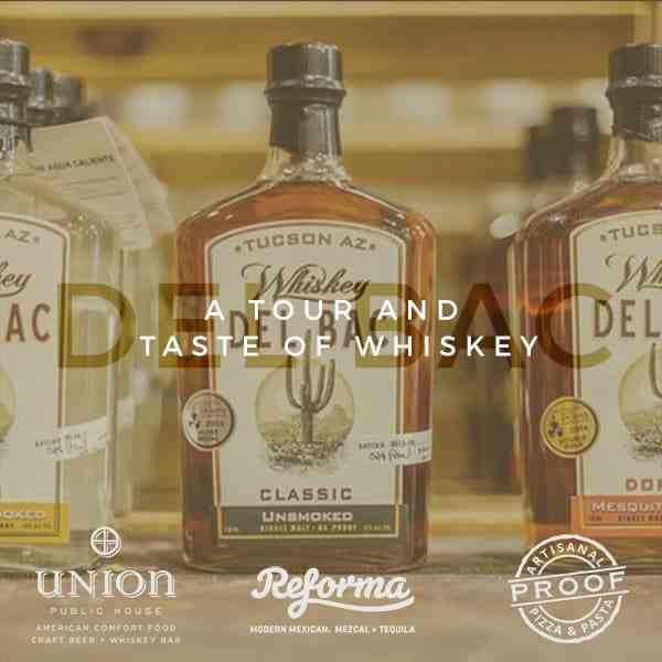A Tour and Taste of Whiskey Del Bac