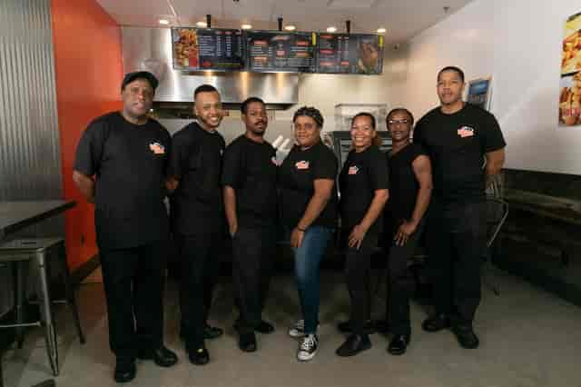 Image of team at Fishbone Seafood