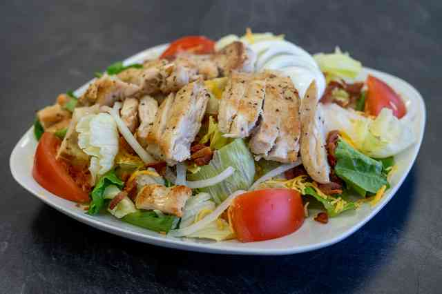 grilled chef's salad