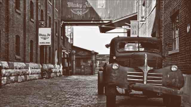 whiskey truck