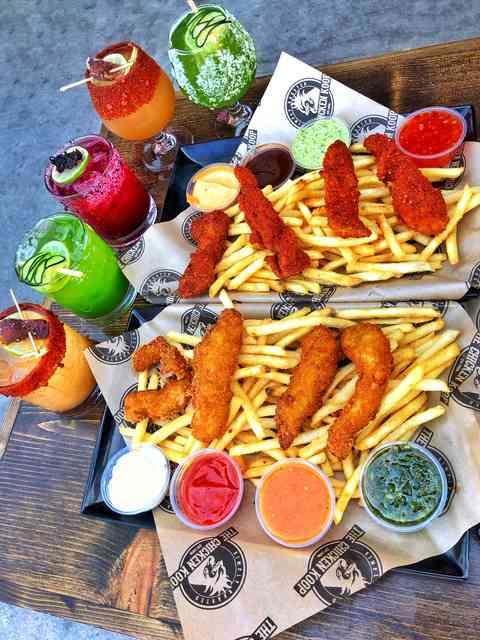 fries with drinks