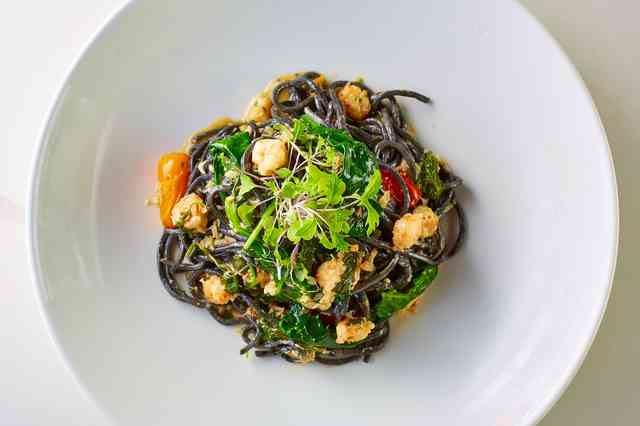 squid ink linguine