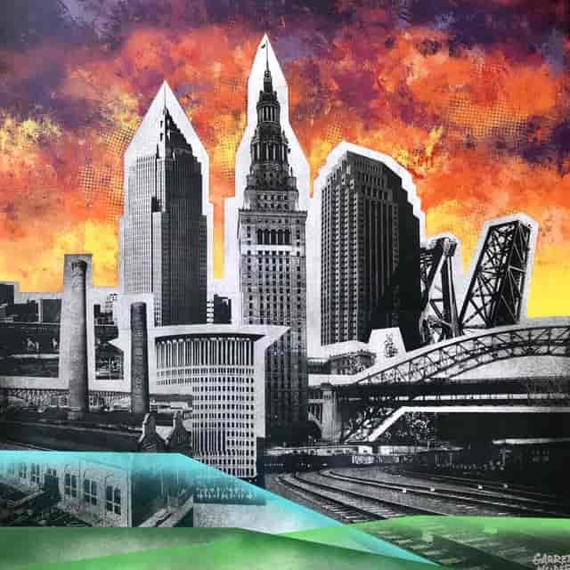 Cleveland Skyline by Garrett Weider