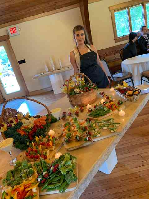catering food selection