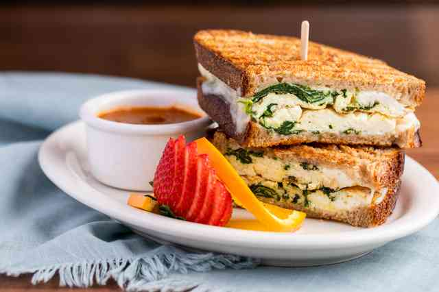 egg white panini