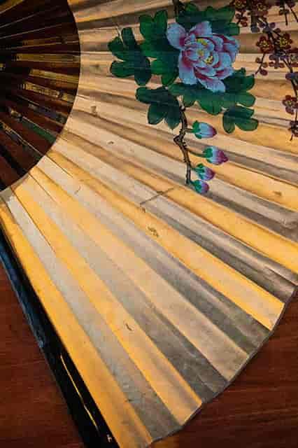 Decorated fan