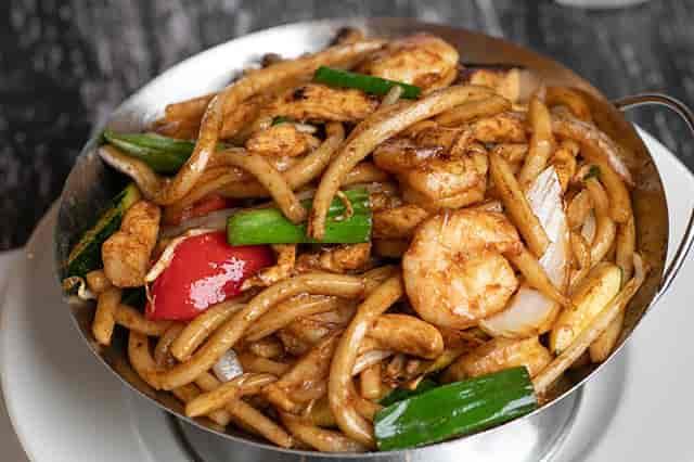 Rock shrimp dish