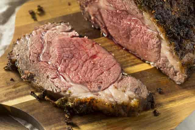 prime rib stock photos