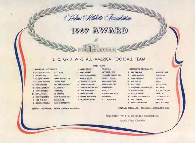 1997 award