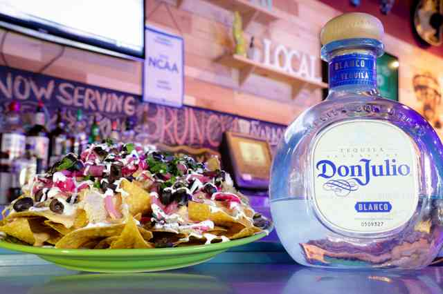 nachos and tequila