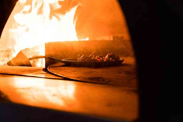 WOODFIRE OVEN PIZZA