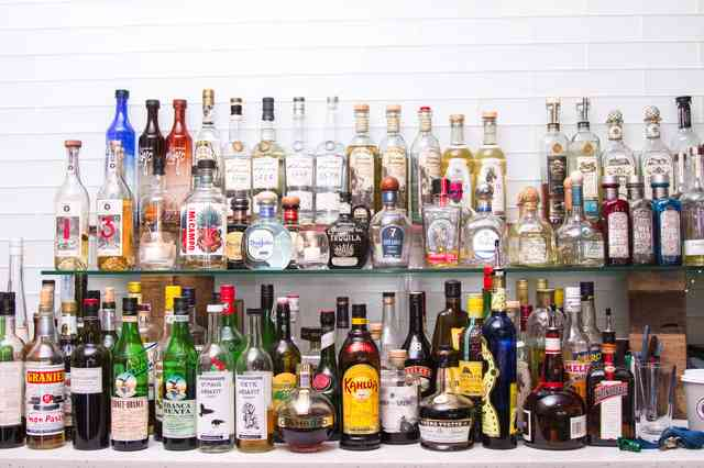 Alcohol collection