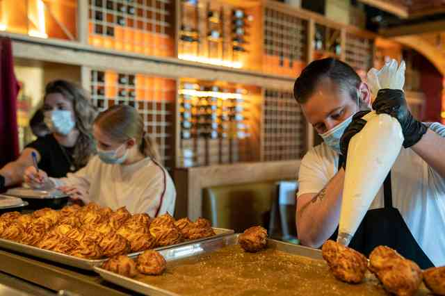 sabio team pastries desserts