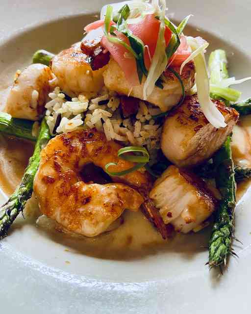 Miso Shrimp & Scallops