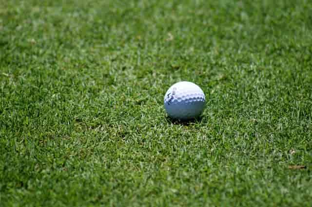 golf ball fairway