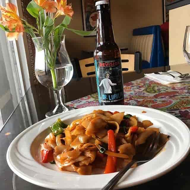 Drunken Noodles Moo Dang Thai Food Reno Nevada