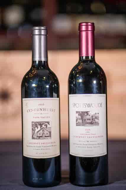 spottswoods wine bottles
