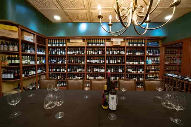 table set wine