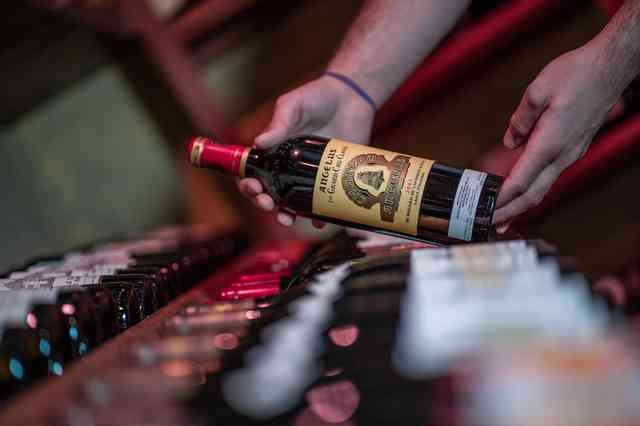 angelus wine bottles
