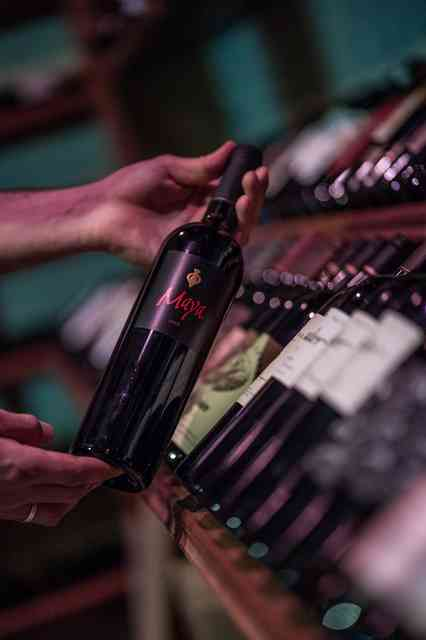maya wine bottles
