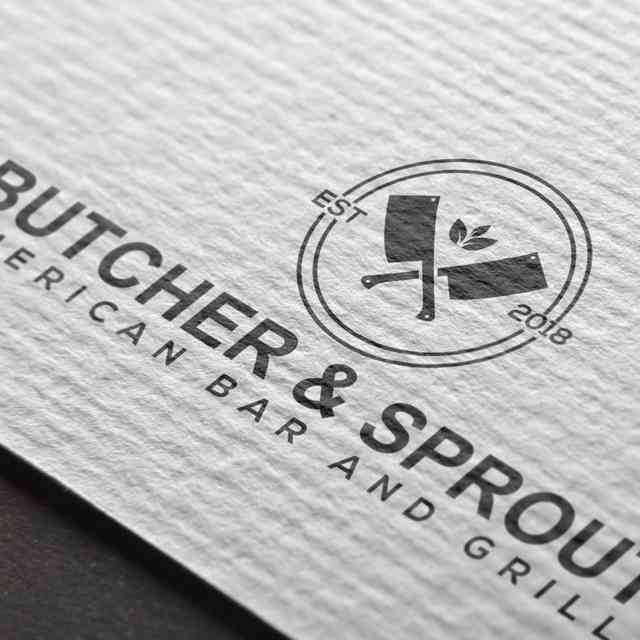 paper with logo