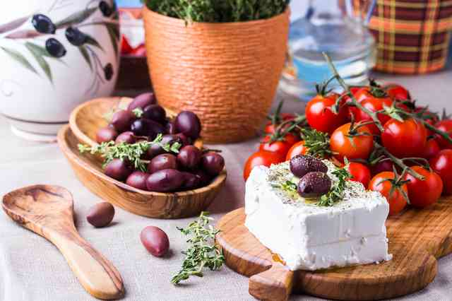 olives cheese tomatoes