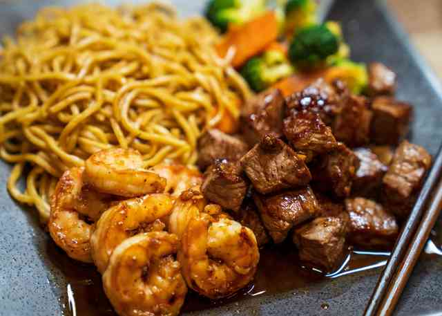 hibachi steak and shrimp