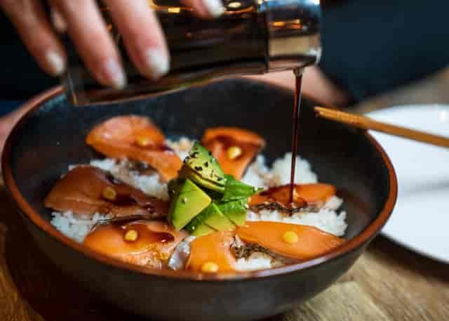 yaki salmon don