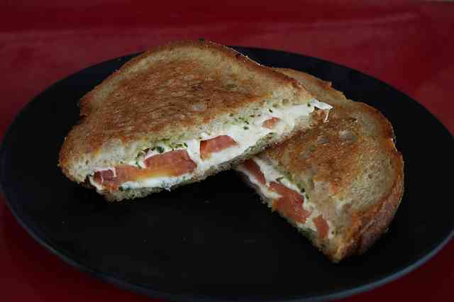 15. The Grilled Cheese Roasted Tomato Sandwich