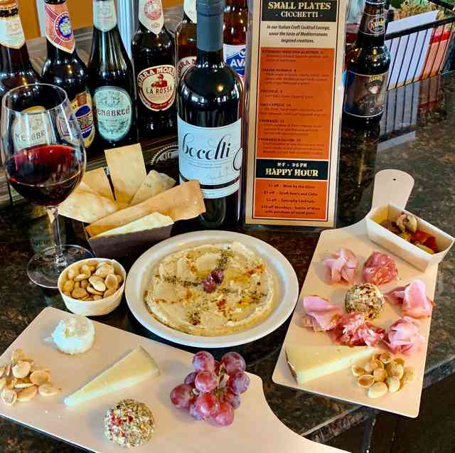 Small Plates ( Cicchetti) in Our Craft Cocktail Lounge