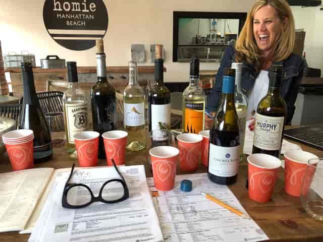 wine tasting with Deb!