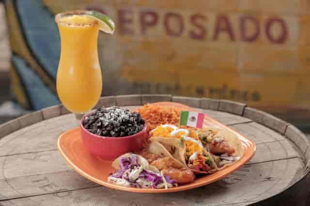 taco special and mango margarita