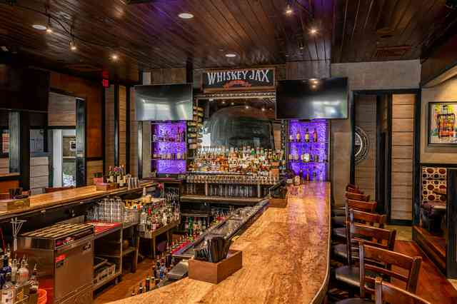 interior bar whiskey jax